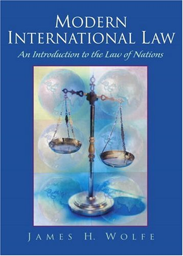 Modern International Law: An Introduction to the Law of Nations 9780130170439