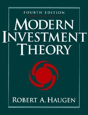 Modern Investment Theory 9780131901827