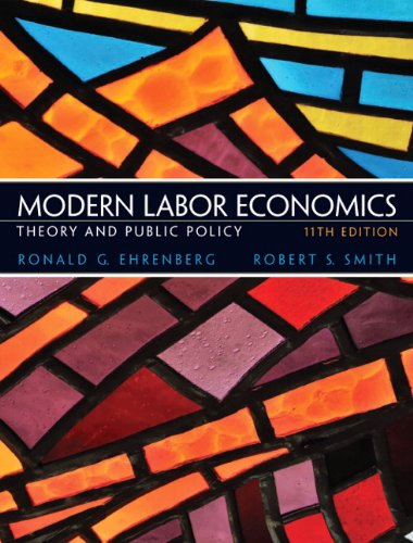 Modern Labor Economics: Theory and Public Policy 9780132540643