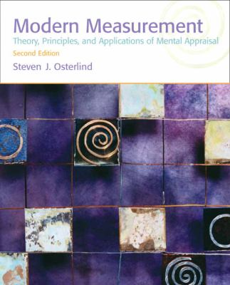 Modern Measurement: Theory, Principles, and Applications of Mental Appraisal 9780137010257