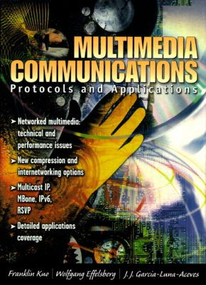 Multimedia Communications: Protocols and Applications 9780138569235