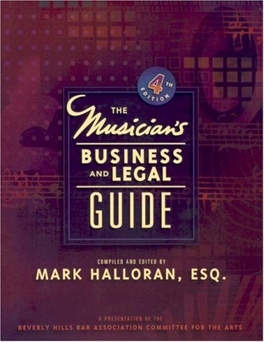Musician's Business & Legal Guide 9780132281270