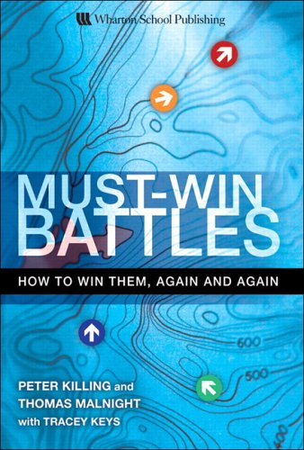 Must-Win Battles: How to Win Them, Again and Again 9780131990494