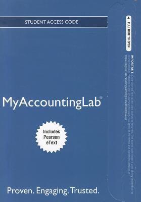 MyAccountingLab 9780132952682