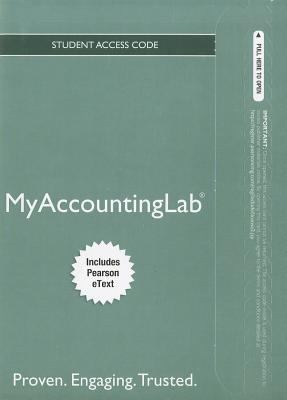 MyAccountingLab for Financial & Managerial Accounting Student Access Code, Includes Pearson eText 9780132913737