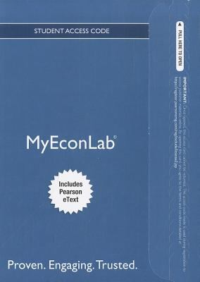 MyEconLab for Economics Today Student Access Code, Includes Pearson eText 9780132872409