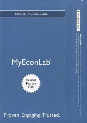 MyEconLab for Macroeconomics Student Access Code, Includes Pearson eText 9780132914819