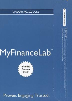 MyFinanceLab Student Access Code 9780132889742