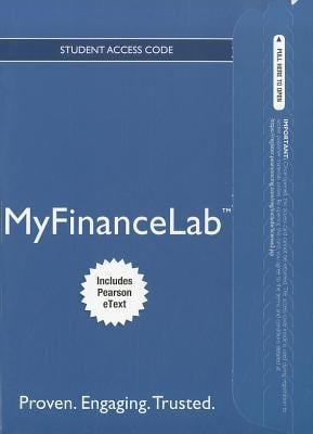 MyFinanceLab for Fundamentals of Corporate Finance Student Access Code, Includes Pearson eText 9780132907040