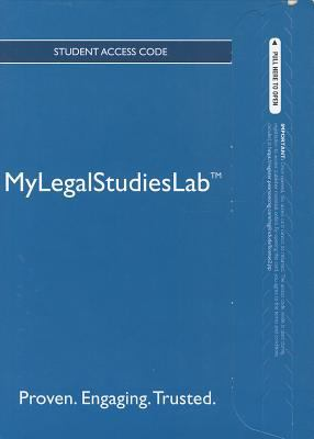 MyLegalStudiesLab Student Access Code 9780133026030