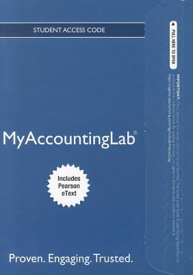 Myaccountinglab 9780132914451