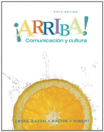 Myspanishlab with Pearson Etext -- Access Card -- For ?Arriba!: Comunicacion y Cultura (24-Month Access) 9780131590458
