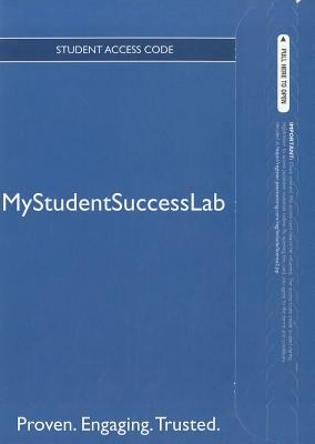 New MyStudentSuccessLab 3.0
