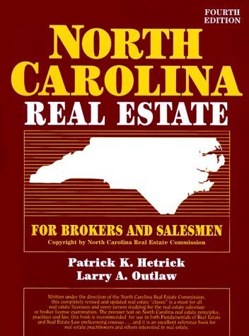 North Carolina Real Estate for Brokers and Salesmen 9780136251040