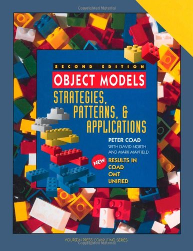 Object Models: Strategies, Patterns, and Applications 9780138401177