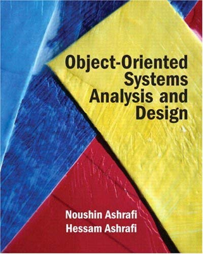 Object Oriented Systems Analysis and Design 9780131824089