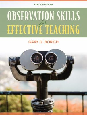 Observation Skills for Effective Teaching 9780137039722
