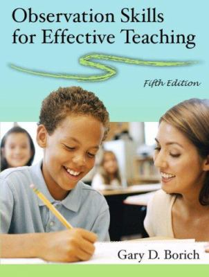 Observation Skills for Effective Teaching 9780132229005