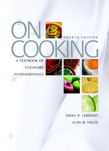 On Cooking: A Textbook of Culinary Fundamentals 9780131713277