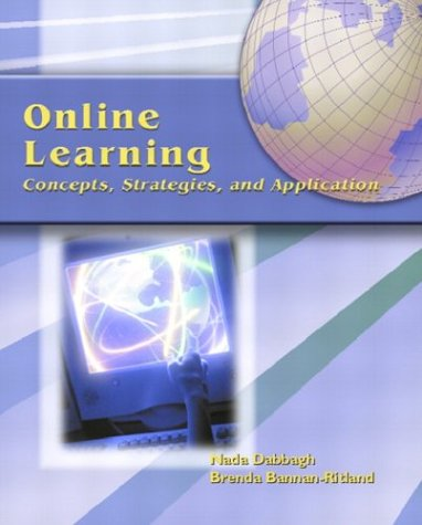 Online Learning: Concepts, Strategies, and Application 9780130325464