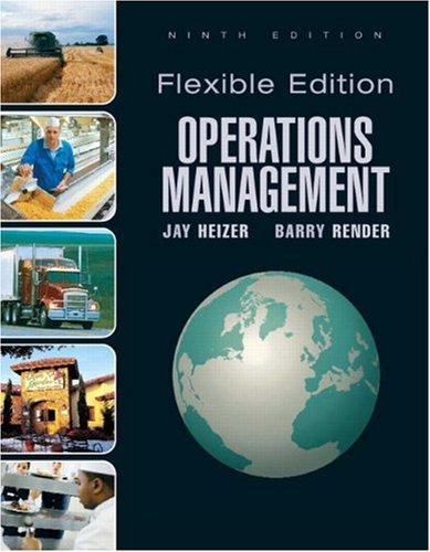 Operations Management, Flexible Version 9780136025672