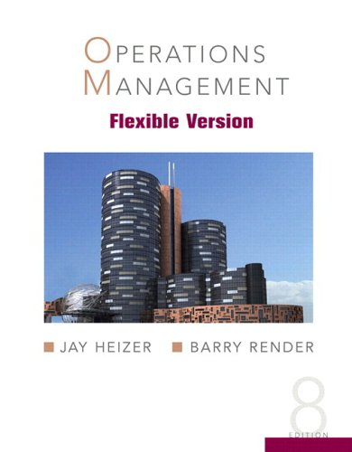 Operations Management, Flexible Version [With CD (Audio)] 9780132209298