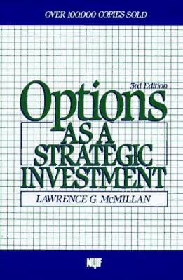 Options as a Strategic Investment, Third Edition: 2third Edition 9780136360025