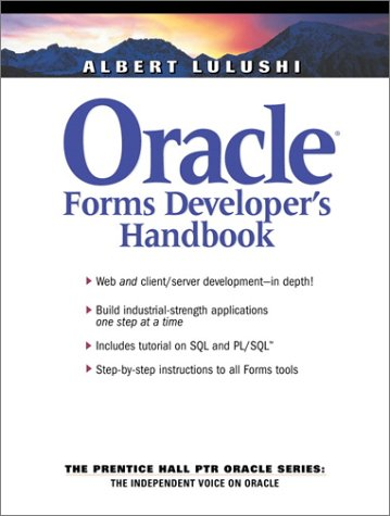 Oracle Forms Developer's Handbook 9780130307545