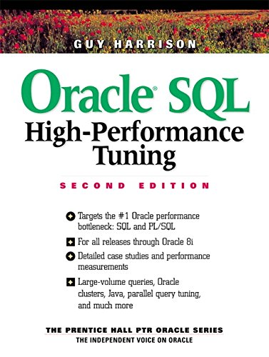 Oracle SQL High-Performance Tuning 9780130123817
