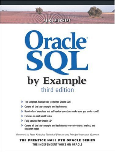 Oracle SQL by Example 9780131451315