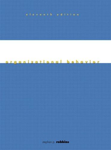 Organizational Behavior & Sal 3.0 CD-ROM 9780131642249