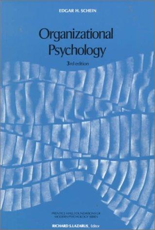 Organizational Psychology 9780136413325