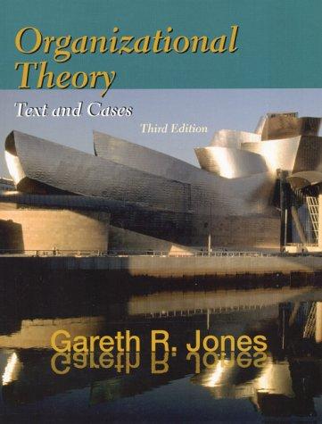 Organizational Theory 9780130183781