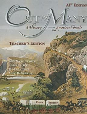 Out of Many: A History of the American People [With CDROM] 9780131986107