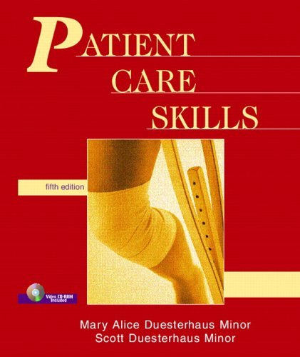 Patient Care Skills [With Video CDROM] 9780131113824