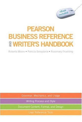 Pearson Business Reference and Writer's Handbook [With Access Code] 9780135140536