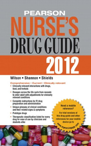 Pearson Nurse's Drug Guide [With Access Code] 9780132558679