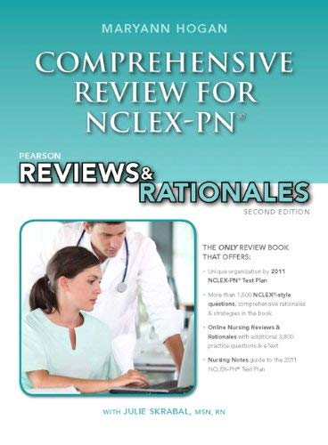 Pearson Reviews & Rationales: Comprehensive Review for NCLEX-PN 9780132621410