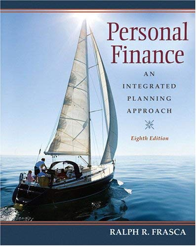 Personal Finance: An Integrated Planning Approach 9780136063032