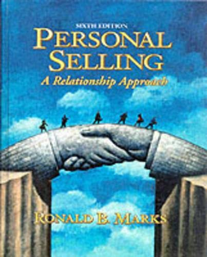 Personal Selling 9780132428842