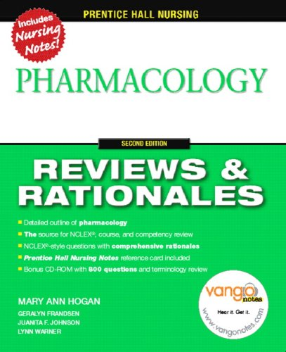 Pharmacology [With CDROM] 9780132437103