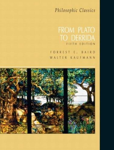 Philosophic Classics: From Plato to Derrida 9780131585911