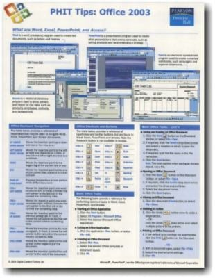 Phit Tips Excel 2003 9780131303188
