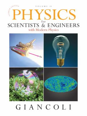Physics for Scientists & Engineers: Volume II: With Modern Physics 9780132273596