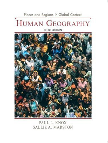 Places and Regions in Global Context: Human Geography 9780131015180