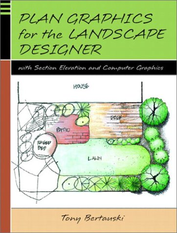 Plan Graphics for the Landscape Designer with Section-Elevation and Computer Graphics 9780130329998