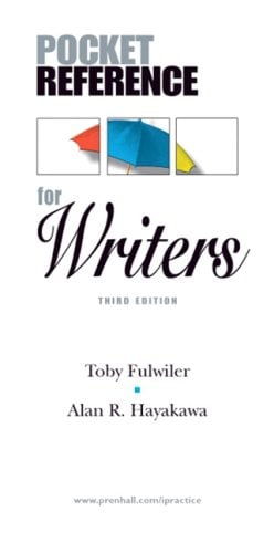 Pocket Reference for Writers 9780136142379