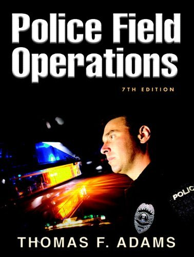Police Field Operations 9780132193702