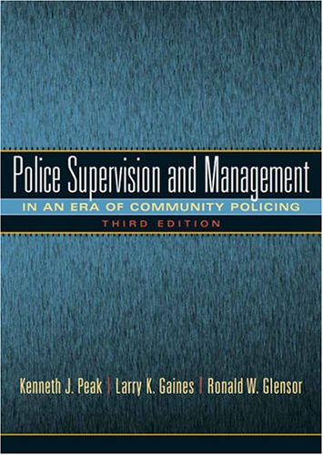 Police Supervision and Management 9780135154663
