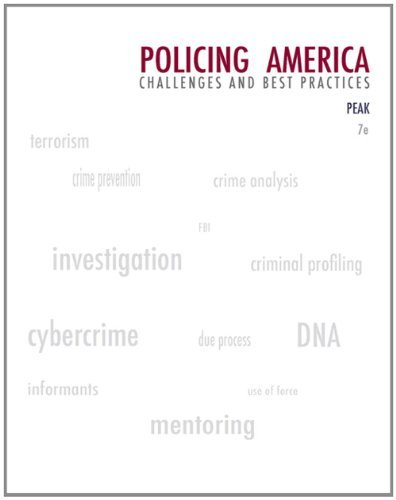 Policing America: Challenges and Best Practices 9780135101827